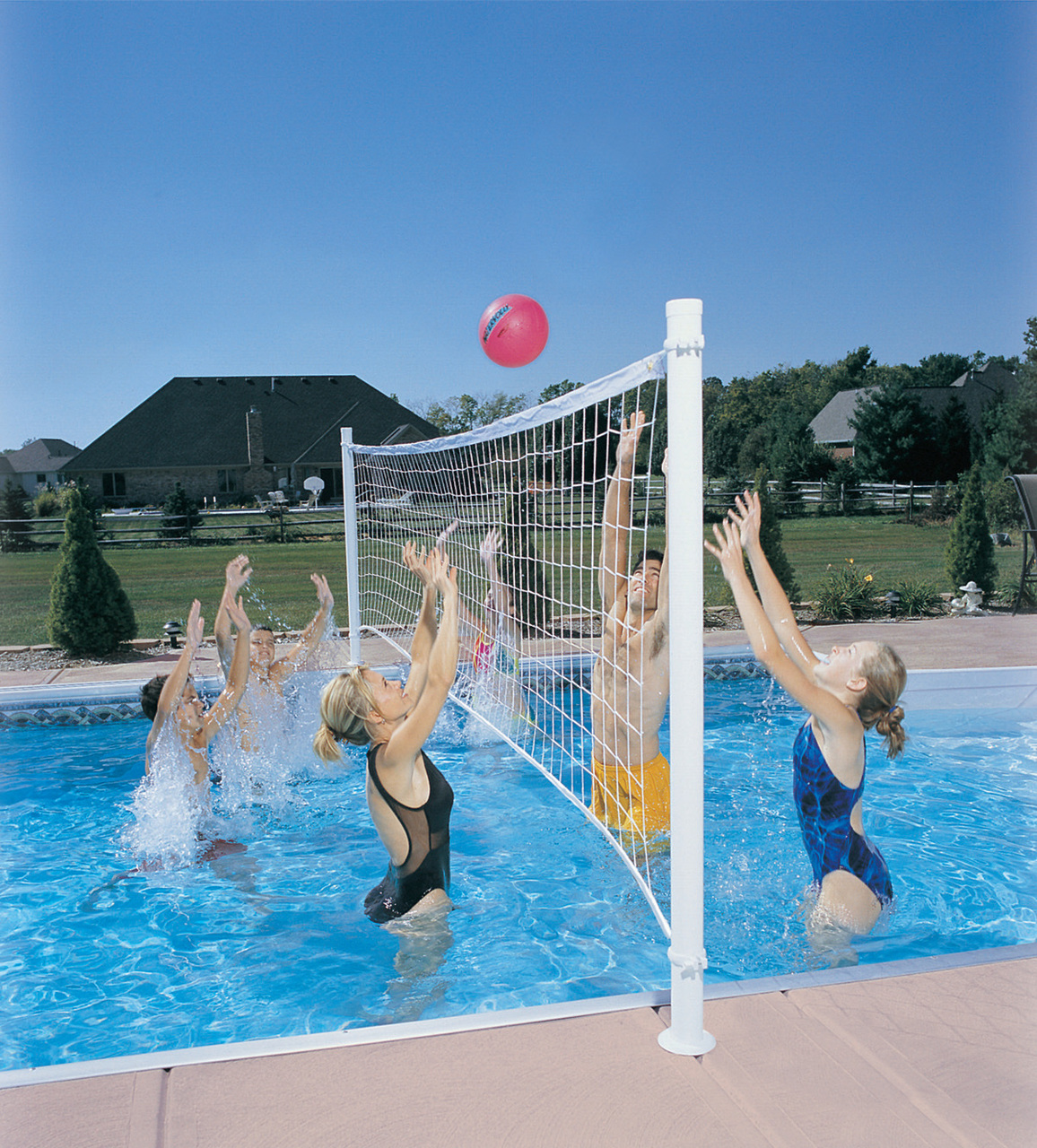 Pool Volleyball - Pool Games for Kids